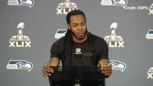 Seahawks star Richard Sherman talks about the impending birth of his child