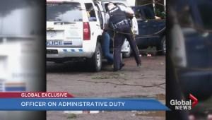 RCMP officer under investigation after violent takedown caught on camera