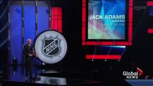 Flames honored at NHL awards