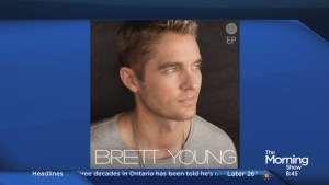 Singer-songwriter Brett Young on his self-titled EP