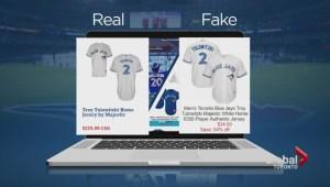 Fake sports merchandise a multi-billion dollar industry