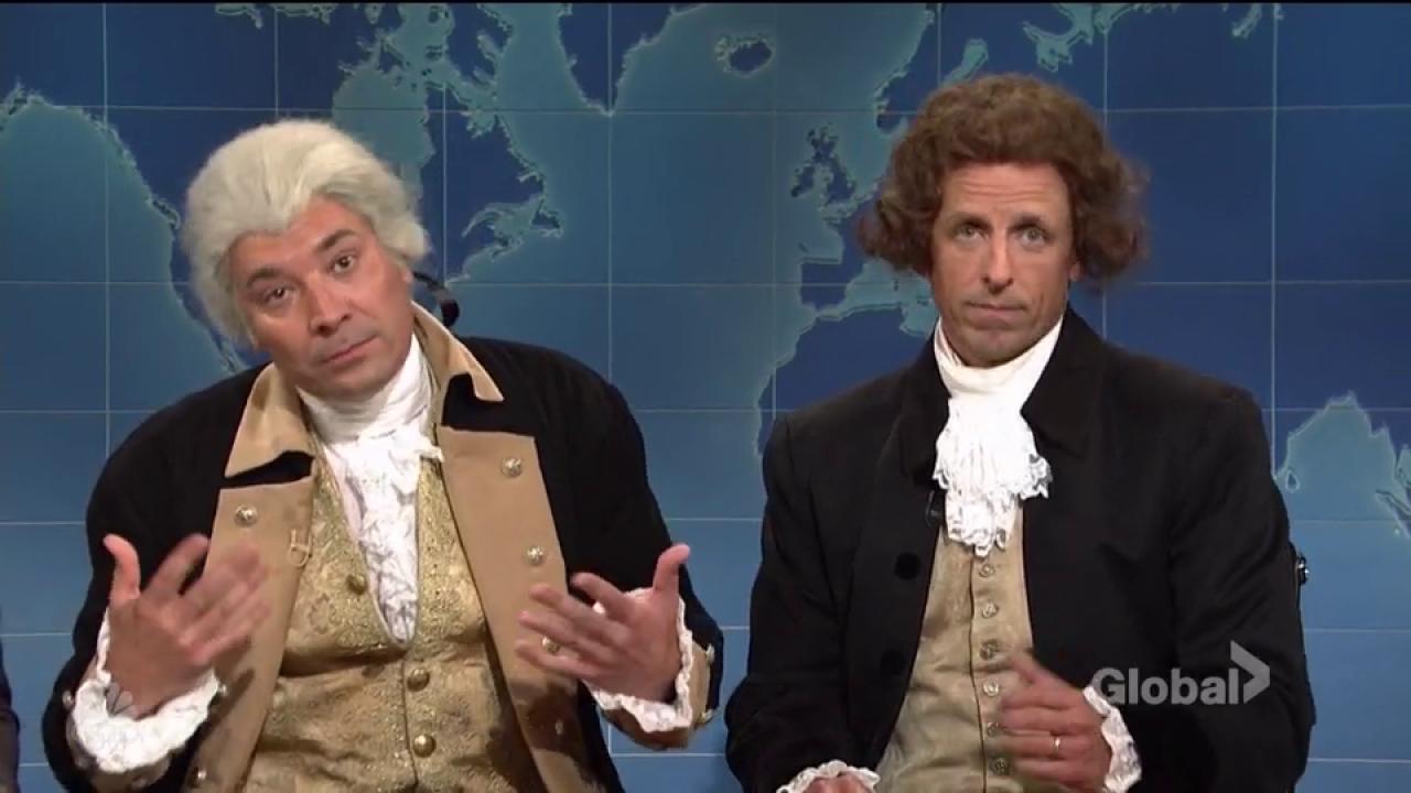 Tina Fey returns to 'SNL Weekend Update' to slam Trump, Ryan