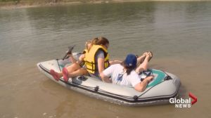 Officials warn people to be safe around river