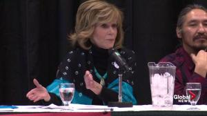 Jane Fonda extends olive branch to energy workers: we have a common enemy