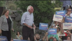 Bernie sanders gaining ground with democrats, catching up to Hillary