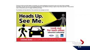 Edmonton scraps traffic safety ad before it's even launched