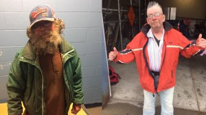 Man 'down on his luck' given makeover by New York police