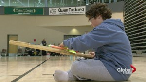 Rocket launch contest pits 6th graders against each other