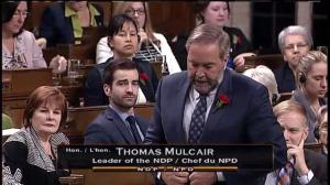 Tom Mulcair wants to see Trudeau do more to support provincial disaster relief