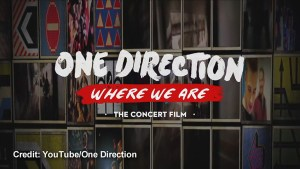 Movie Trailer: One Direction: Where We Are – The Concert Film
