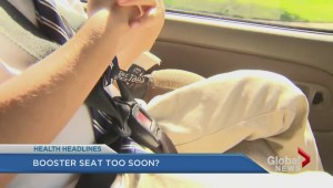 Booster seats too soon?