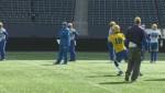 Blue Bombers Mike O'Shea on Day 1 of mini-camp