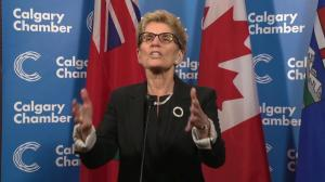 Kathleen Wynne reponds to climate change critics