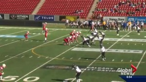 The Calgary Colts are first place in the Prairie Football Conference
