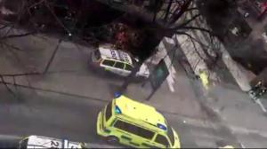 Terrorists ram truck into crowd in Sweden's capital