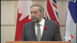 Thomas Mulcair taps Howard Hampton to be Ring of Fire advisor