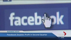BIV: Facebook doubles profit in second quarter