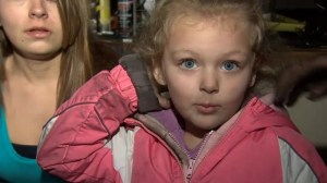 Four-year-old Ohio girl saves family from house fire
