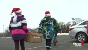 Dartmouth children collect food for those in need