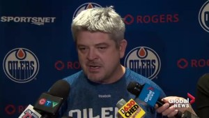 Edmonton Oilers head coach addresses team's rough patch