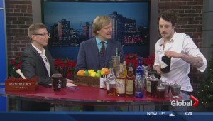 Holiday cocktails with Jonathan Torrens