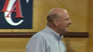Clippers new owner Steve Ballmer holds fan rally