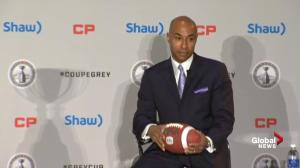 CFL Commissioner Jeffrey Orridge addresses the delay in new drug policy