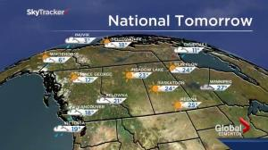 Edmonton Weather Forecast: August 30