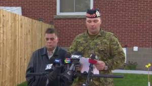 Nathan Cirillo's family delivers statement on his tragic death