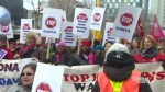 Women's Day march in Toronto brings awareness to missing aboriginal women