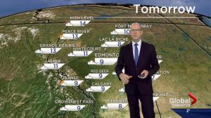 Edmonton Weather Forecast: April 24
