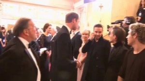 Will and Kate meet 'One Direction'