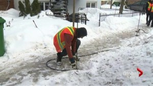 Frozen pipes a headaches for Montrealers