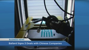 BIV: Ballard signs three deals with Chinese companies