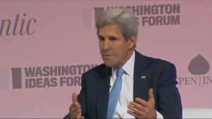 U.S. Secretary of State John Kerry said the U.S. is on the 'verge of suspending' talks with Russia over Syria