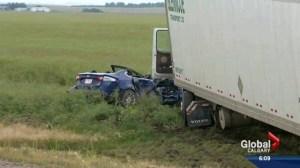 Irricana fatal collision