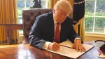Trump confident revised travel ban will standup to legal challenges