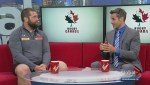 Canadian Rugby team takes on Georgia