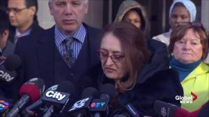 Mother of Sammy Yatim makes emotional statement following guilty verdict in Forcillo trial