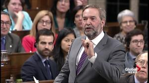 Thomas Mulcair asks Liberals to close stock option loophole