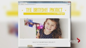 5-year-old launches project to share her birthday presents with others