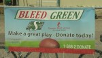 Saskatchewan Roughriders want fans to 'bleed green' for Canadian Blood Services