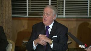 'He's got a lot of power and authority…always wise to be vigilant': Brian Mulroney on Trump