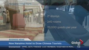 New Nanaimo hotel to welcome Chinese tourists