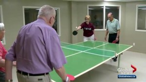 Saskatoon seniors find love and health at ping pong table