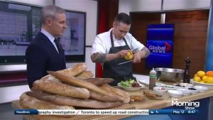 Celebrating the tastes of spring with Chef Andrew WIlson