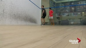 Kids from a Calgary racquet club are literally squashing the competition