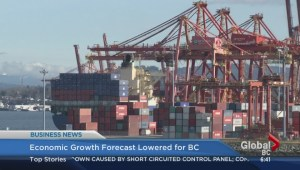 BIV: Economic growth forecast lowered for B.C.