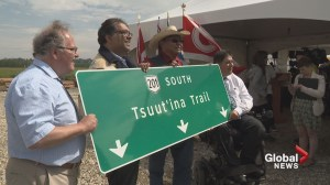 Southwest Calgary Ring Road renamed 'Tsuut'ina Trail' as construction continues