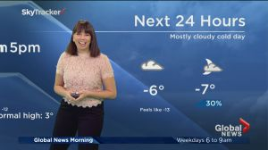 Global News Morning weather forecast: Thursday, March 16